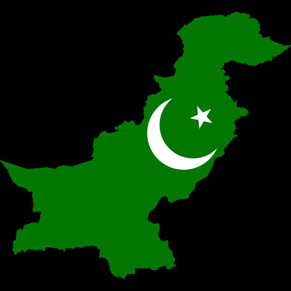 Pakistan's green map