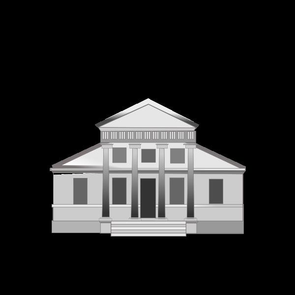 Vector illustration of villa