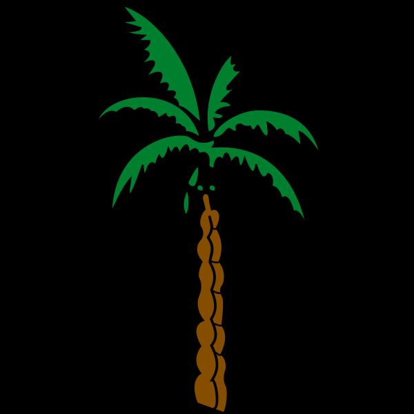 Palm tree sketch
