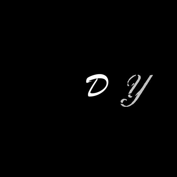 Parody typography vector image