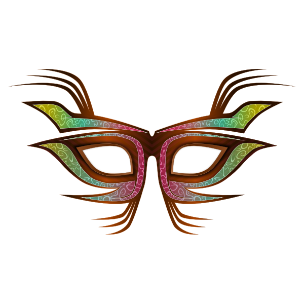 Party Mask Clip Art