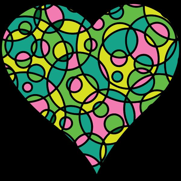 Patterned Heart 22