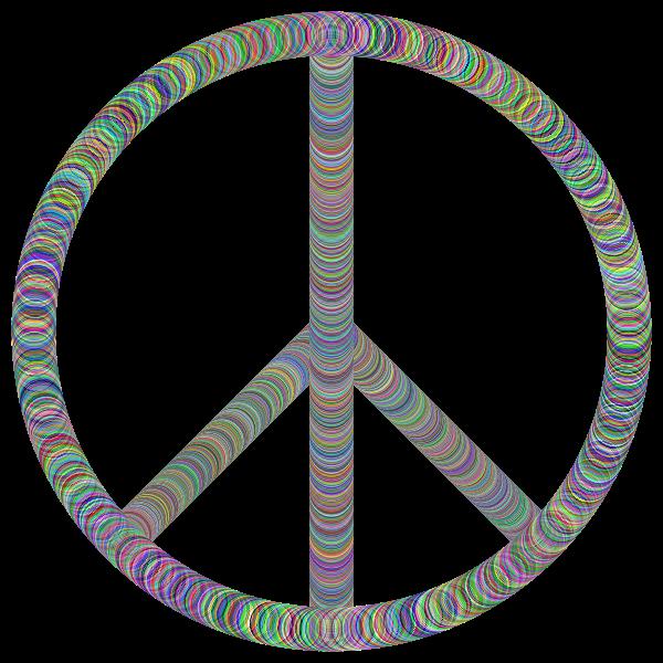 Peace Sign Tubes Prismatic