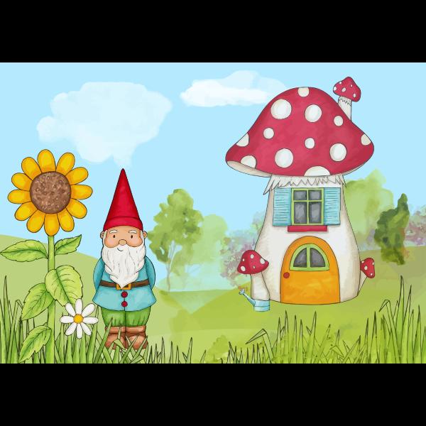 Peaceful gnome
