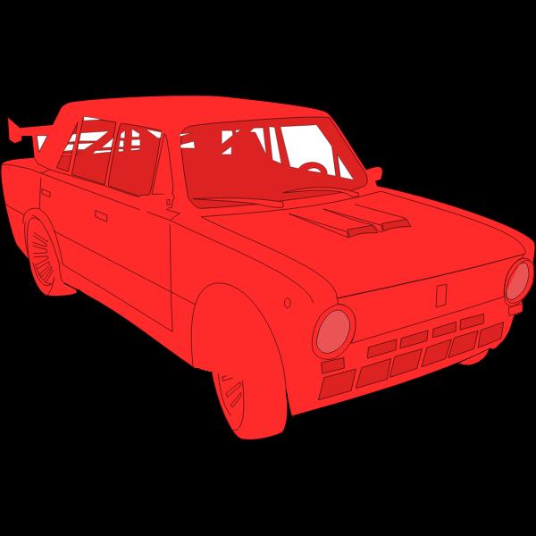 Lada car vector image