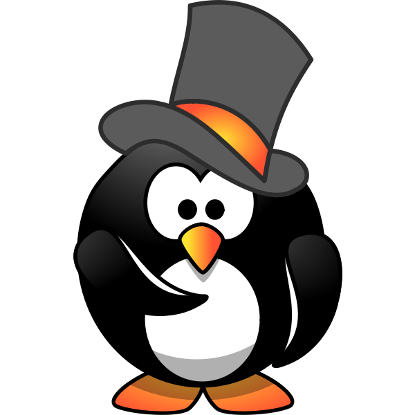 Penguin Top Hat Wants You