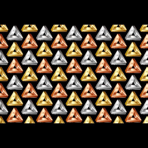 Shiny seamless triangles