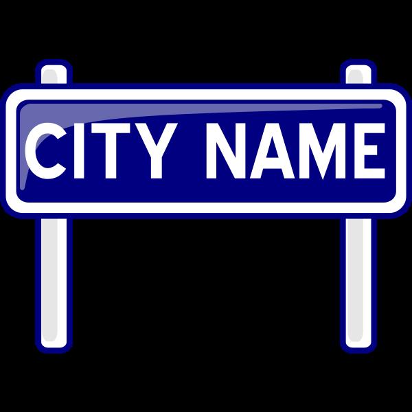 PeterM City nameplate