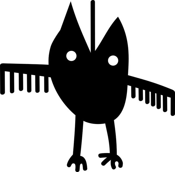 Petroglyph Spedis owl