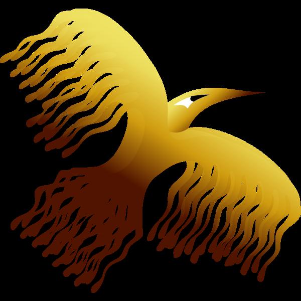 Phoenix bird design vector illustration