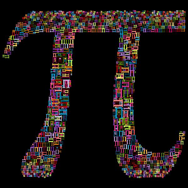 Pi Number Fractal Pattern