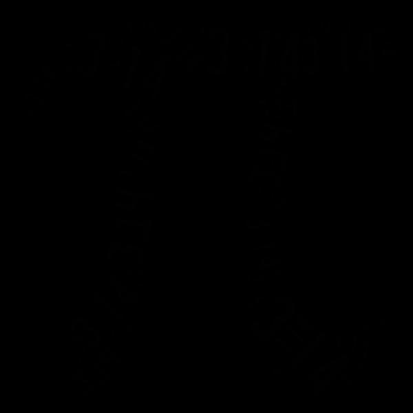 Pi numeral silhouette