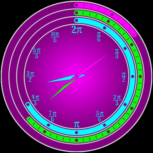 Pi Day Clock