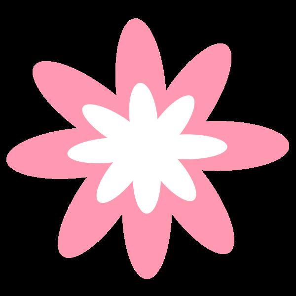 Pink Burst Flower