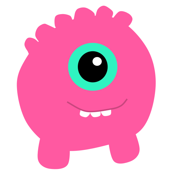 One Eyed Monster Free Svg