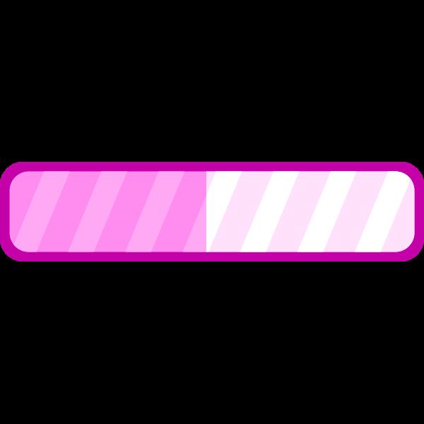 Pink progress bar