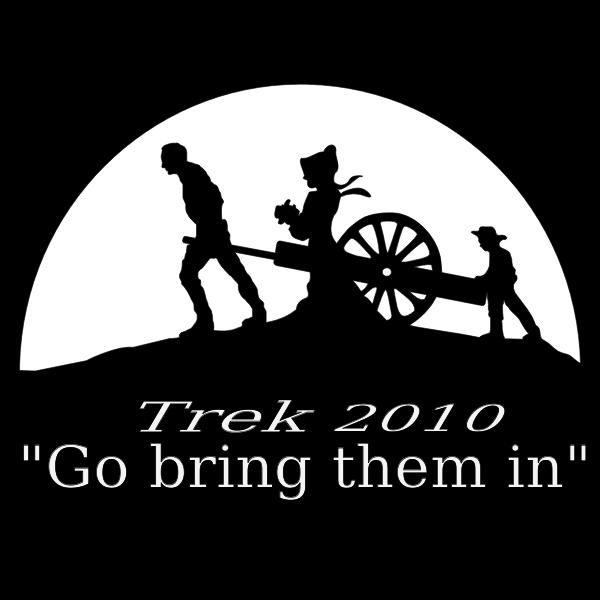 Pioneer trek logo vector image