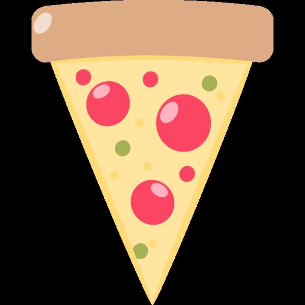 Pizza slice image