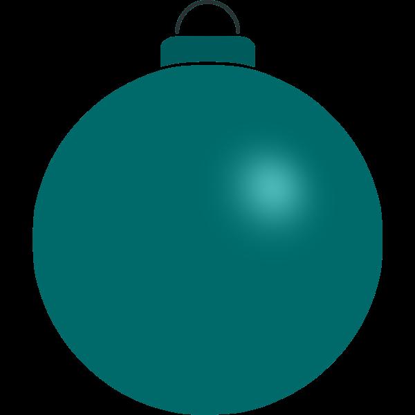 Dark green ball