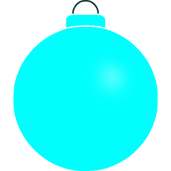 Plain Christmas decoration