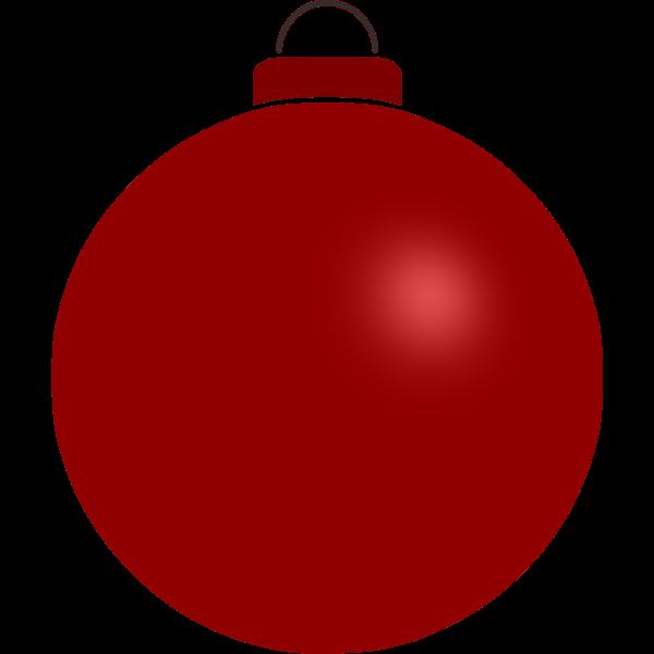 Red plain ball