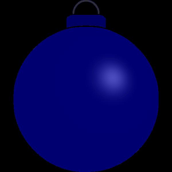 Plain blue buble