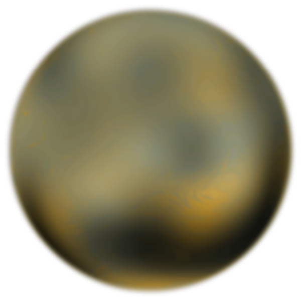 Pluto 270 Degree Face From Hubble Telescope