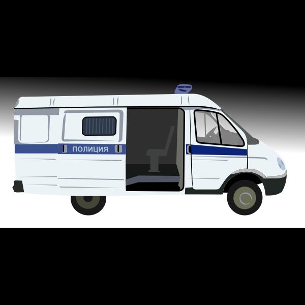 Police van GAZelle