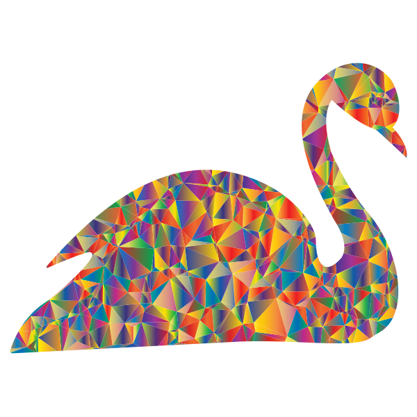 Polyprismatic Low Poly Swan