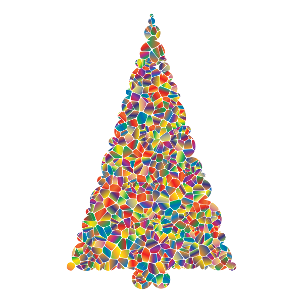Polyprismatic Tiled Christmas Tree