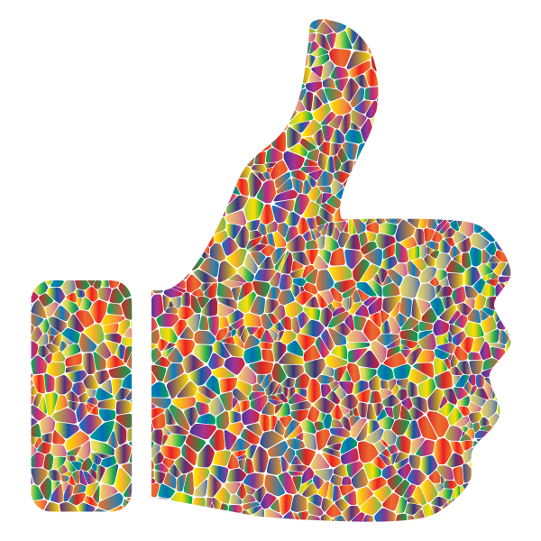 Polyprismatic Tiled Thumbs Up