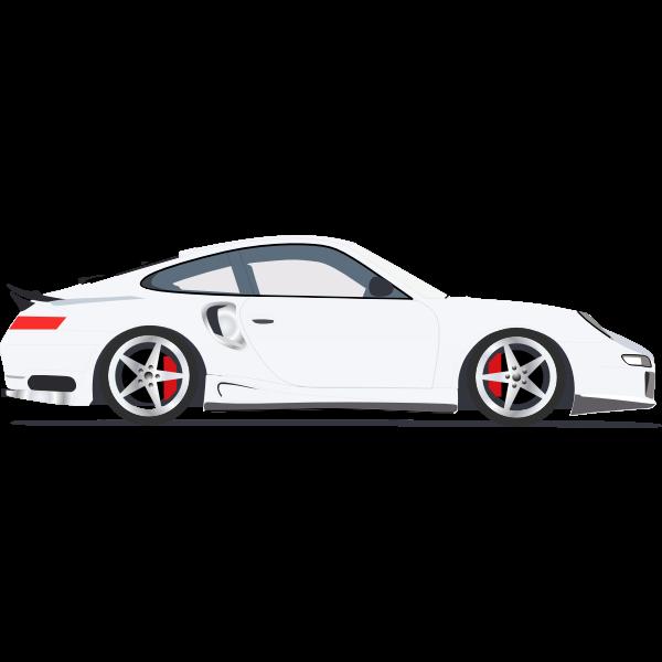 Vector illustration of sports vehicle