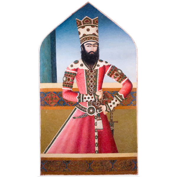 Portrait of Hasan Ali Mirza Shuja al Saltana