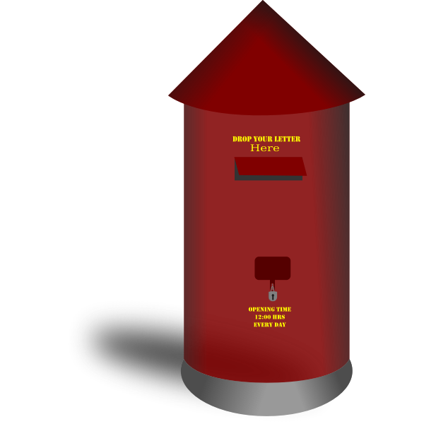 Postbox vector illustration
