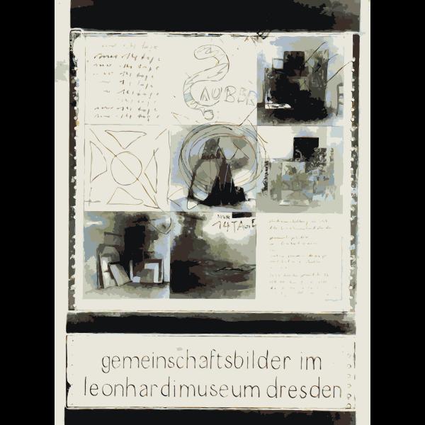 Dresden gallery poster