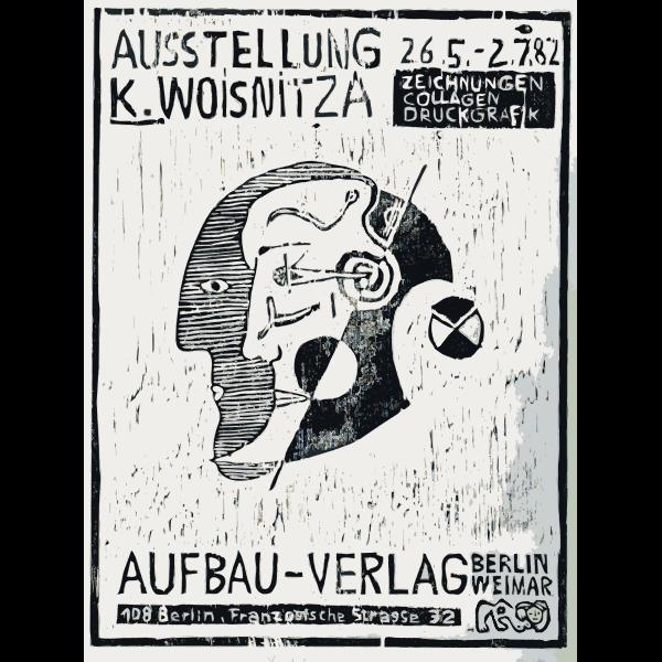 Berlin exhibit ad