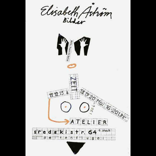 Gallery exhibit poster