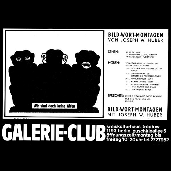 Gallery program poster
