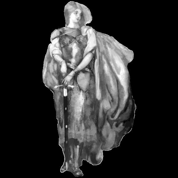 Princess Ida Grayscale 2