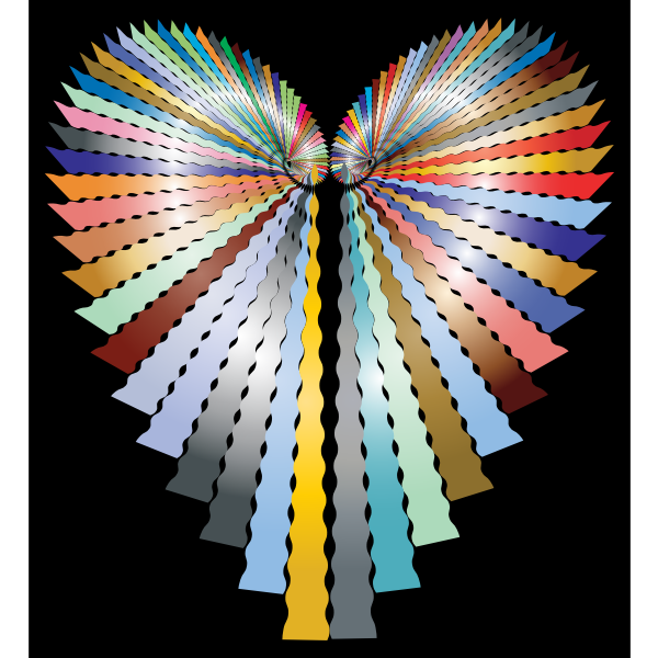 Prismatic Abstract Heart