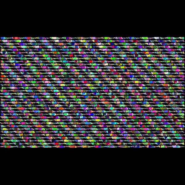 Prismatic Abstract Irregular Geometric Background No Black