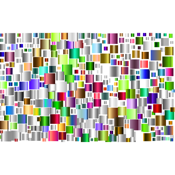 Prismatic Abstract Squares 3
