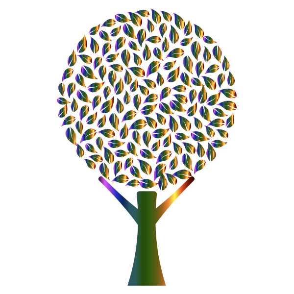 Prismatic abstract tree
