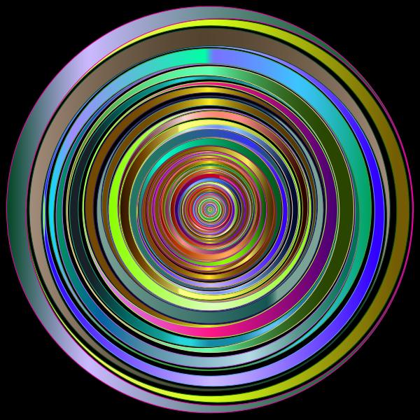 Prismatic Abstract Vortex 18 2 Variation 2