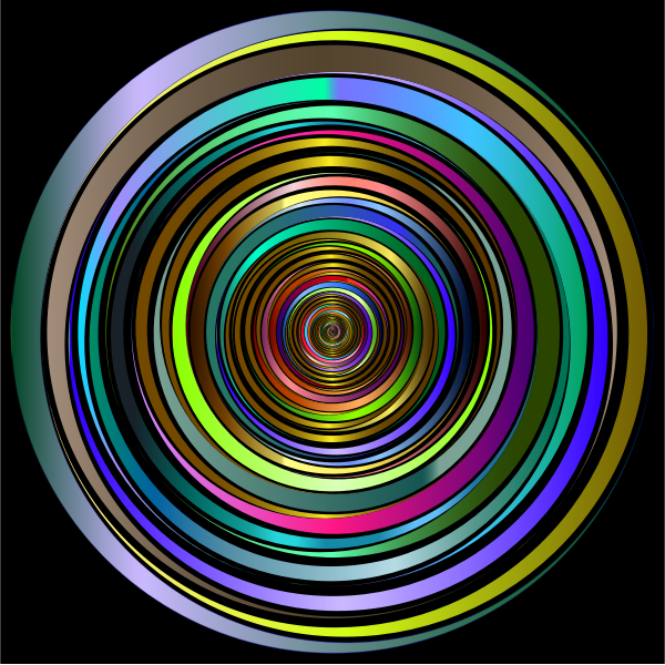 Prismatic Abstract Vortex 18 2