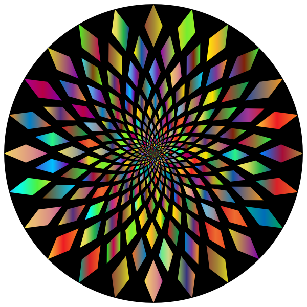 Prismatic Abstract Vortex 31 2 With Background