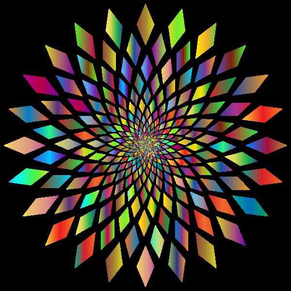 Prismatic Abstract Vortex 31 2