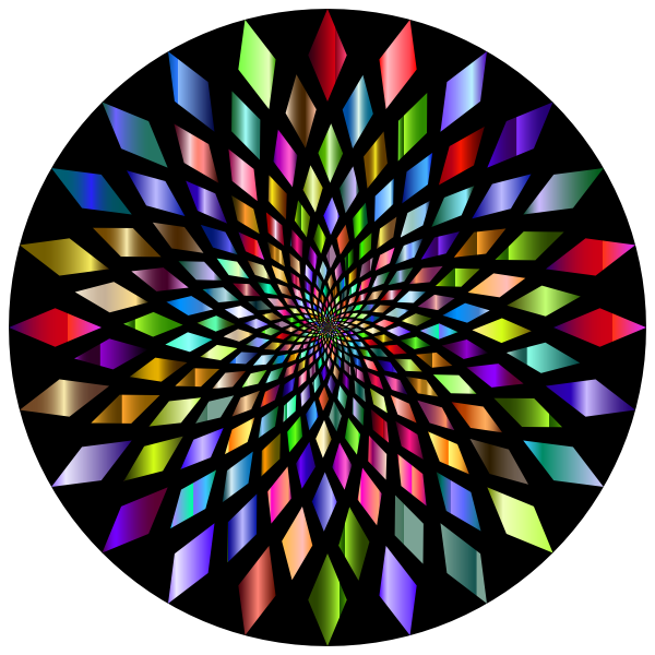 Prismatic Abstract Vortex 31 3 With Background