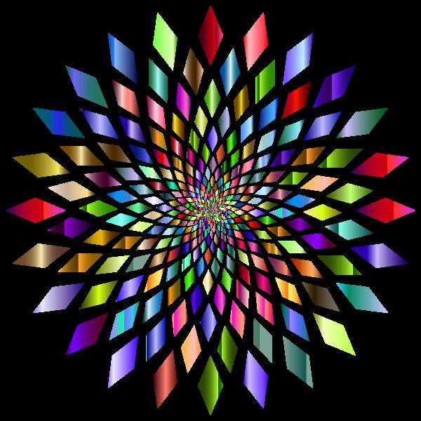 Prismatic Abstract Vortex 31 3