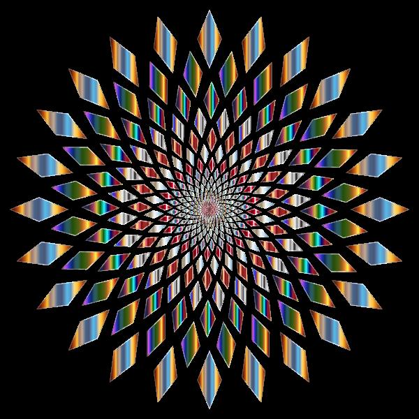 Prismatic Abstract Vortex 31 4 No Background